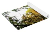 Autumn Path Yoga Mat