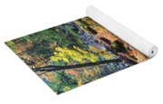 Autumn Path Yoga Mat