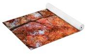 Autumn Sky Yoga Mat