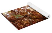 Autumn Sunshine Poster Yoga Mat