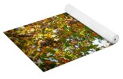 Autumn Sycamore Tree Yoga Mat