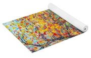 Autumn Walk  Yoga Mat