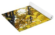 Autumns Gold Yoga Mat