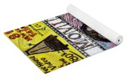 B Movie Yoga Mat