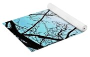 Backlit Tree Yoga Mat