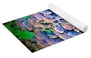 Backyard Mushroom  Yoga Mat