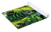 Bahamas - Tropical Waterfall Yoga Mat