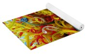 Ball Of Chihuly Glass Yoga Mat