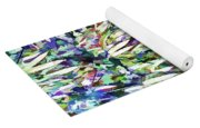 Bamboo Forest Background Yoga Mat
