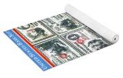 Banknotes Yoga Mat
