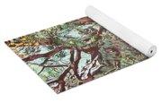 Baoba In Foliage Yoga Mat