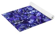Beach Glass - Blue Yoga Mat