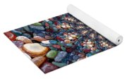 Beach Kaleidoscope Yoga Mat