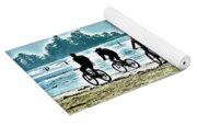 Beach Ride Yoga Mat