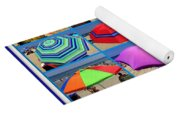 Beach Umbrella Medley Yoga Mat