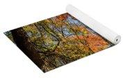 Bear Mountain Bridge Fall Color Yoga Mat