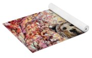 Bear With A Heart Of Gold Yoga Mat