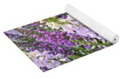 Beautiful Foxglove Yoga Mat