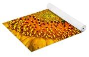 Bee On A Sunflower Yoga Mat