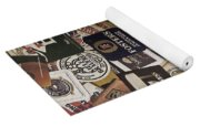 Beers Of The World Yoga Mat