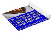 Ben's Catalina Chicken Kabob Sandwich Recipe Yoga Mat