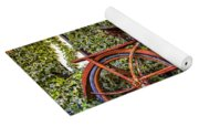 Bicycle In The Garden Yoga Mat