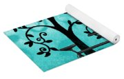 Bicycle In Whimsical Forest Yoga Mat