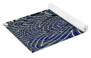 Big Building Abstract Yoga Mat