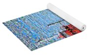 Big Red Photomosaic Yoga Mat