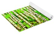 Birch Forest, Painting Yoga Mat
