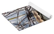 Birdhouse Brambles Yoga Mat