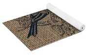 Birds And Burlap 1 Yoga Mat