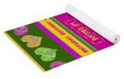 Birthday Girl's Birthday Wishes Yoga Mat