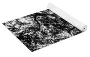 Black And White Tree 2 Yoga Mat