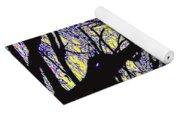 Blacky Bear Forest Yoga Mat