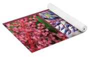 Blooming Bromeliads Collage Yoga Mat