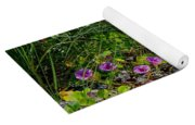 Blooming Cross Vines Along The Beach Yoga Mat