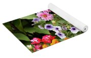 Blossoming Flowers Yoga Mat