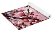 Blossoms Art Spring Pink Tree Blossom Floral Baslee Troutman Yoga Mat