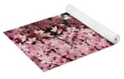 Blossoms Pink Tree Blossoms Giclee Prints Baslee Troutman Yoga Mat