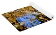 Blue Eyes Crying In The Rain Yoga Mat