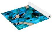Blue Jade Strand Yoga Mat