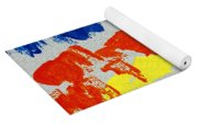 Blue Mountains Even Lemons Limes Oranges And Strawberries Yoga Mat