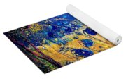 Blue Poppies 459070 Yoga Mat