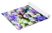 Blue Purple Hydrangea Flower Macro Art Yoga Mat