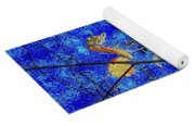 Blue Skies And Last Leaves Of Fall Yoga Mat