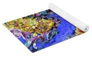 Blueberry Mash Yoga Mat
