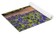 Bluebonnet Sunset  Yoga Mat
