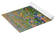 Bluebonnets And Paintbrushes 3 - Texas Yoga Mat