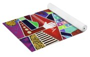 Blues Music Yoga Mat